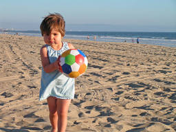 It's never too young to start beach sports