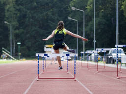 Hurdles is a great way to improve your kids' fitness