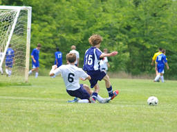 Soccer is a great team sport!