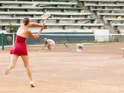 Tennis is great for fitness