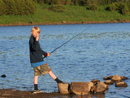 Get your kid to try their hand at angling!