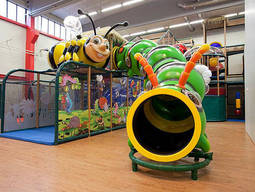 Nevermind the weather - an indoor play park will provide your child with hours of fun!