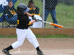 This kid can hit the ball - hard!