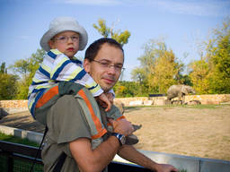 Zoos can provide a great family day out.