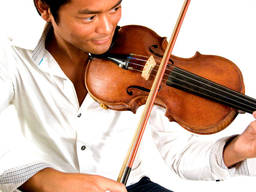 The violin is a great instrument for born performers!