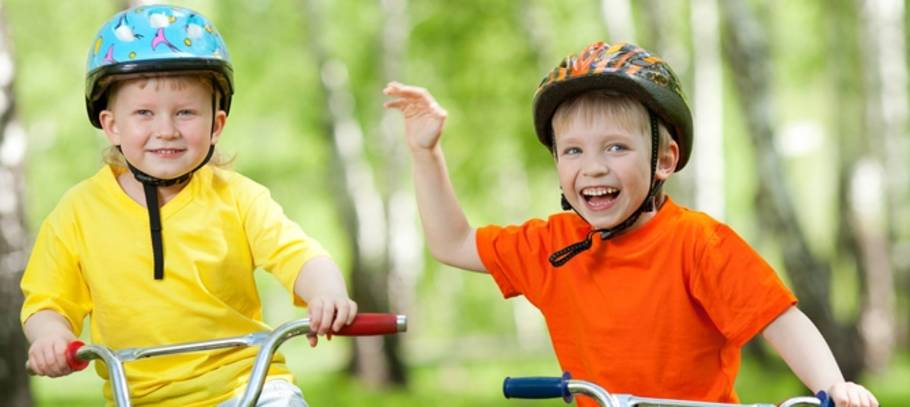 Teach your kids bike safety!