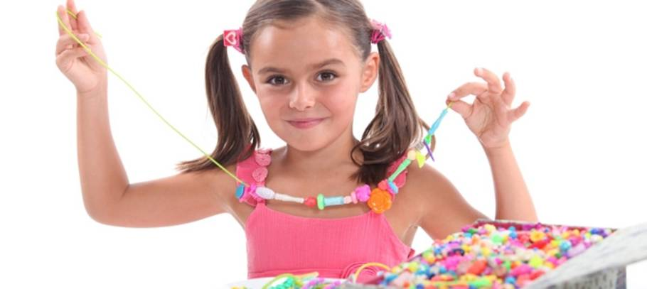 Safe jewellery making for kids
