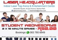 Student Wednesdays Port Elizabeth City Entertainment School Holiday Activities 2