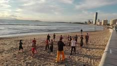 Beach Training Strand City Martial Arts Academies 2