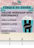 Cirque du Snore Theatre workshop Fourways Drama Classes & Lessons 2 _small