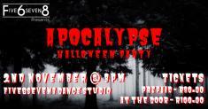 Five6seven8 Apocalypse Halloween Party - 2 Nov 2019 Fontainebleau Ballet Dancing Schools _small