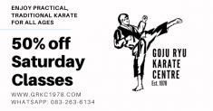 50% off Saturday Classes Florida Hills Karate Clubs _small