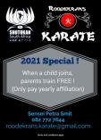 PARENTS TRAIN FOR FREE Roodekrans Karate Classes & Lessons _small