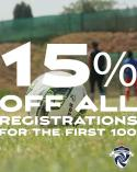 15% OFF FIRST 100 REGISTRATIONS IN MARCH Midrand City Soccer Clubs _small