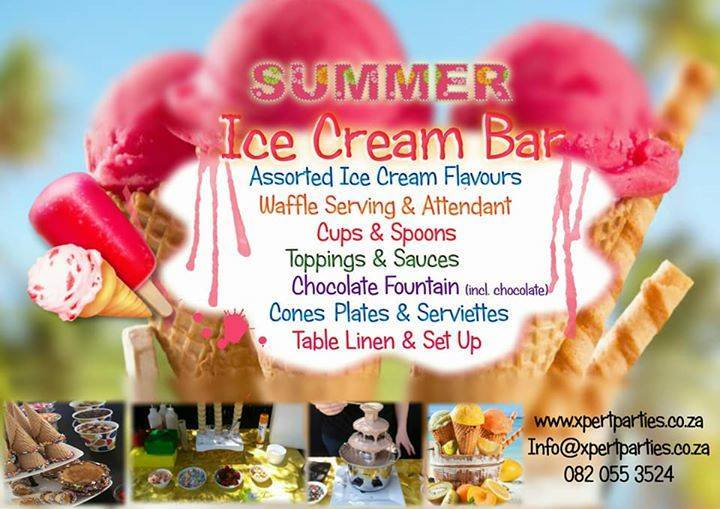 Summer Ice Cream Bar (10 Kids)