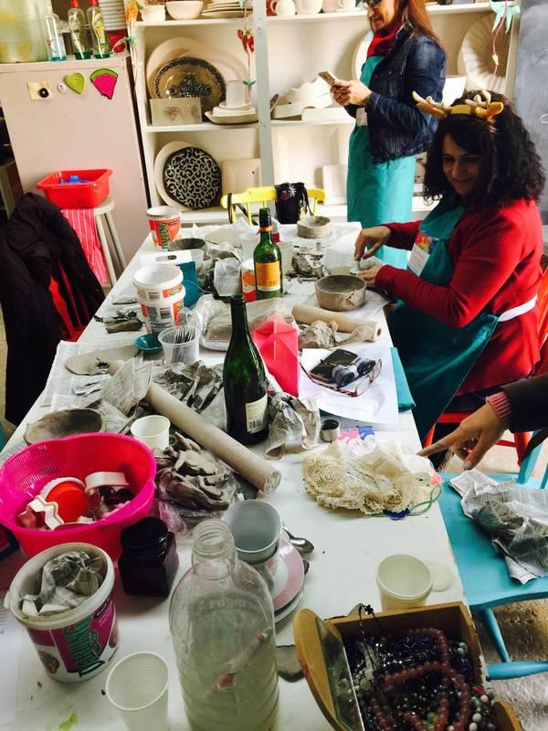 Ceramics Team Building