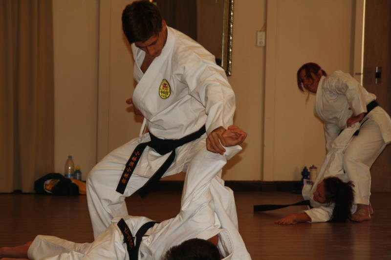 Sensei JP at the Black belt camp
