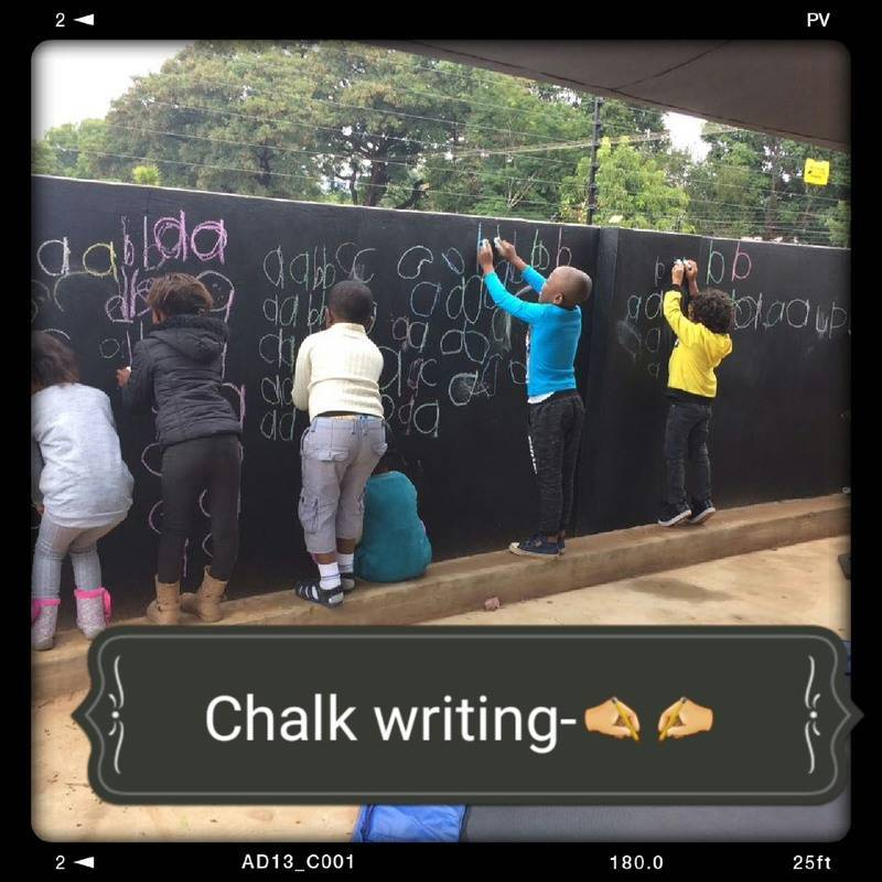 Chalk board activities