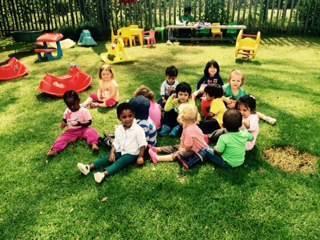 In the school garden