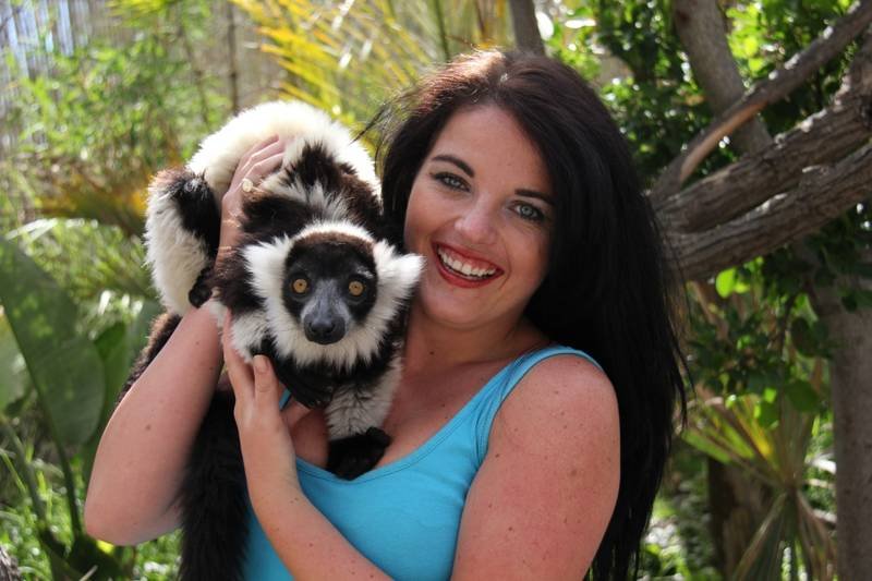 Black & White Ruffed Lemur encounter
