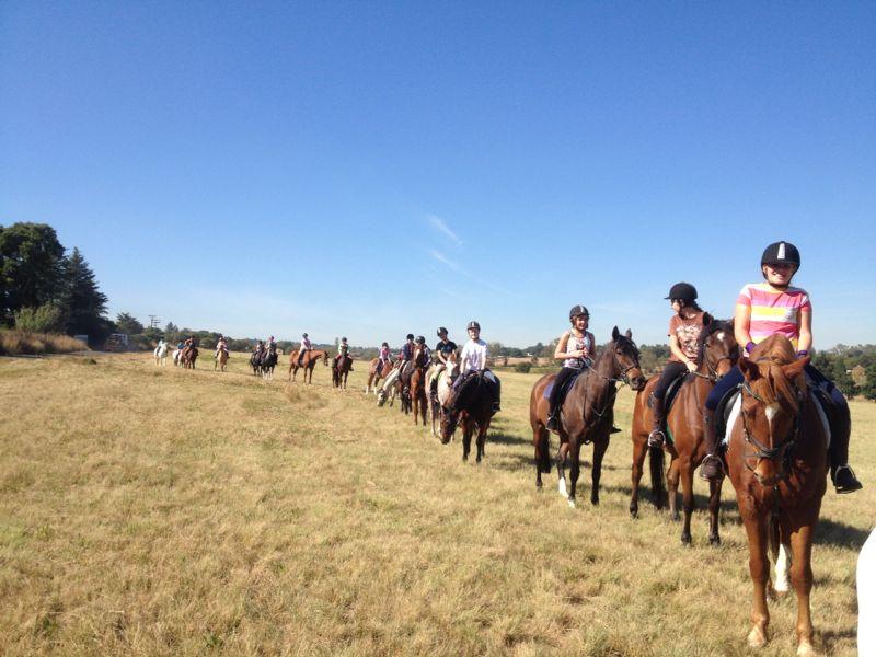 Pony camp  outride