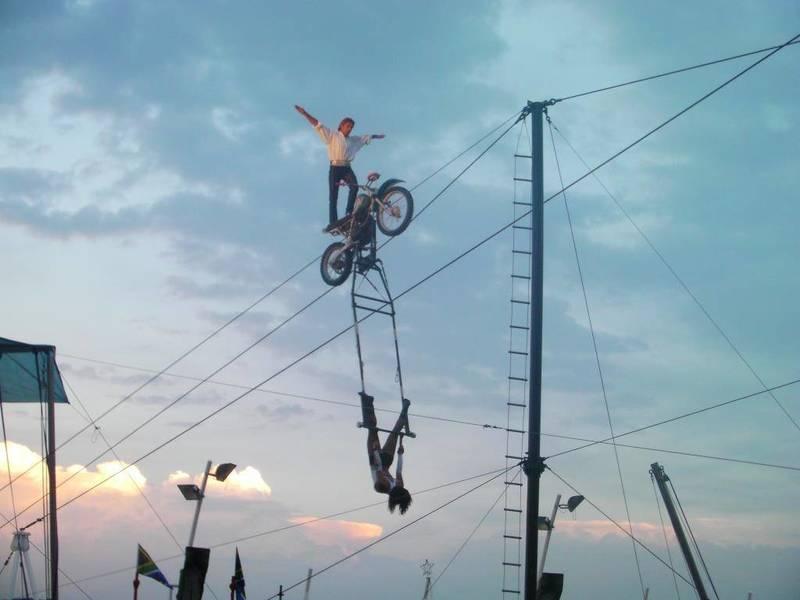 Motorbike Trapeze