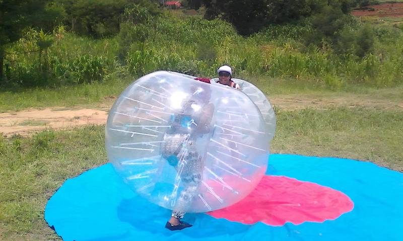 Bumper Ball, Such a fun and exhilarating activity