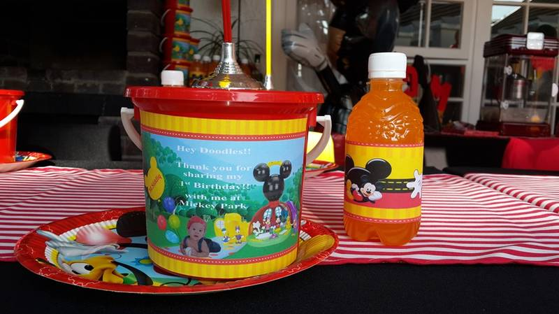 Party Buckets & Juice in any theme available