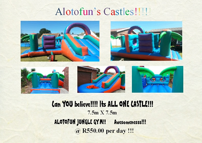 All in One - Jungle Gym Castle