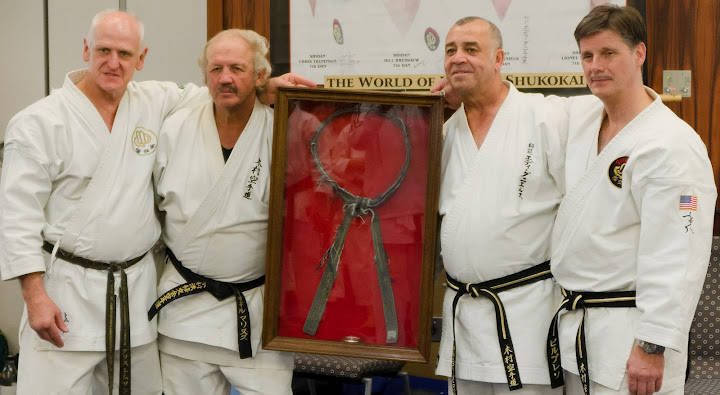 The World Chief instructors