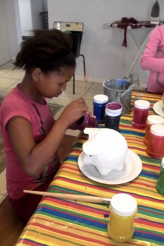 Paper mache project