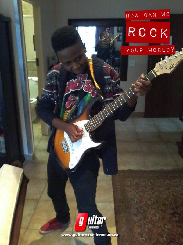 Rock n Roll for all ages in your own home! www.guitarexcellence.co.za