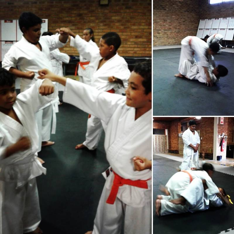 kiddies Self Defence and Anti-Bully classes