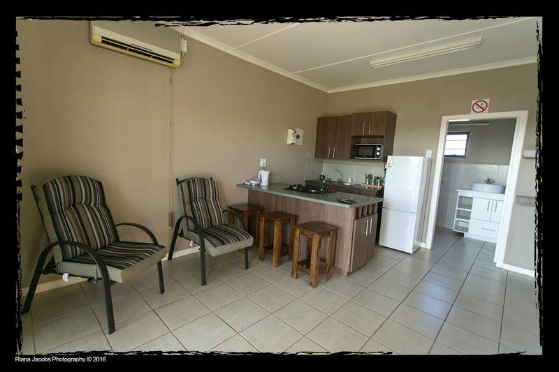 Two bedroom unit kitchen / lounge