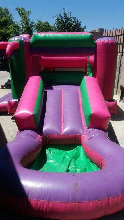 We do hire for kiddies jumping castles, tiffany and Wimbledon chairs.