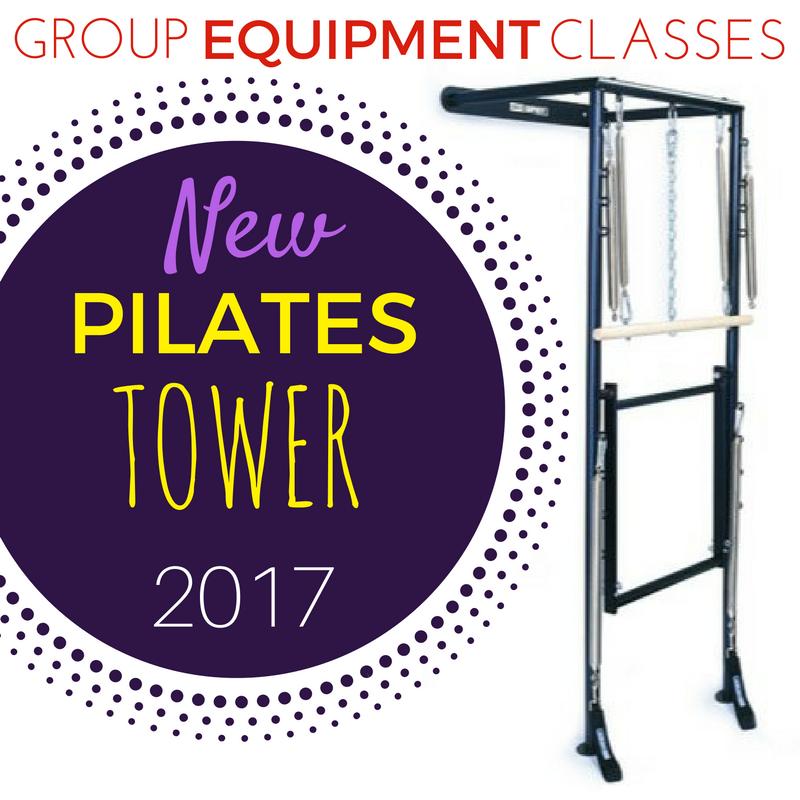 Pilates Equipment Group Classes