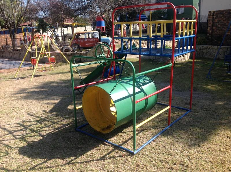 Large playgrounds for different age groups