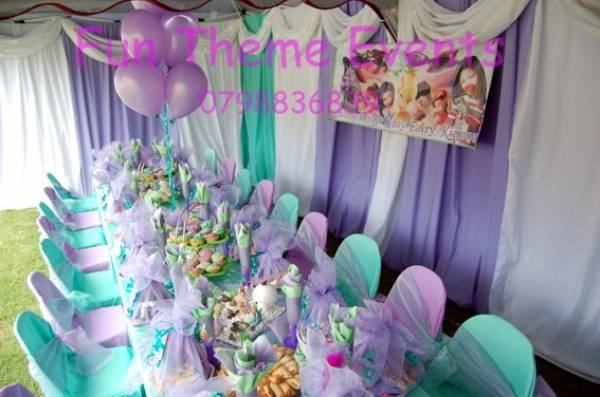 Kiddies Theme Parties