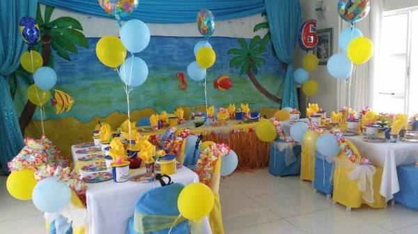 Fun Theme Hawaiin Party