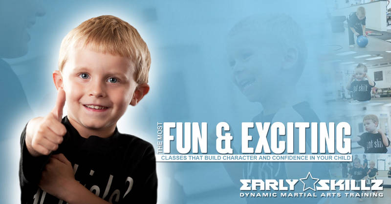 EARLY SKILLZ TRAINING FOR 3-4 YR OLDS