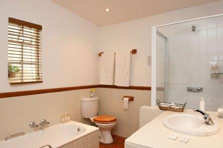 En-suite Bathroom Shower and Bath