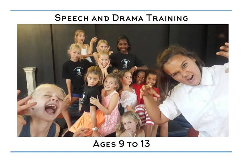 Weekly Speech and Drama Classes for ages 9-13