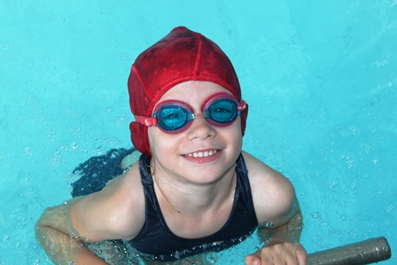 Children progress and learn new skills when they having fun during swim lessons