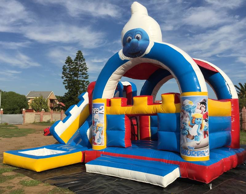 Smurfs Jumping Castle