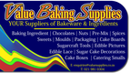Value Baking Supplies (YOUR Supplier of Bakeware & Ingredients)