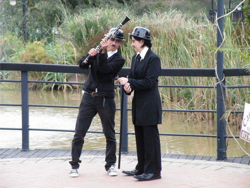 Music Event Charlie Chaplin Theme
