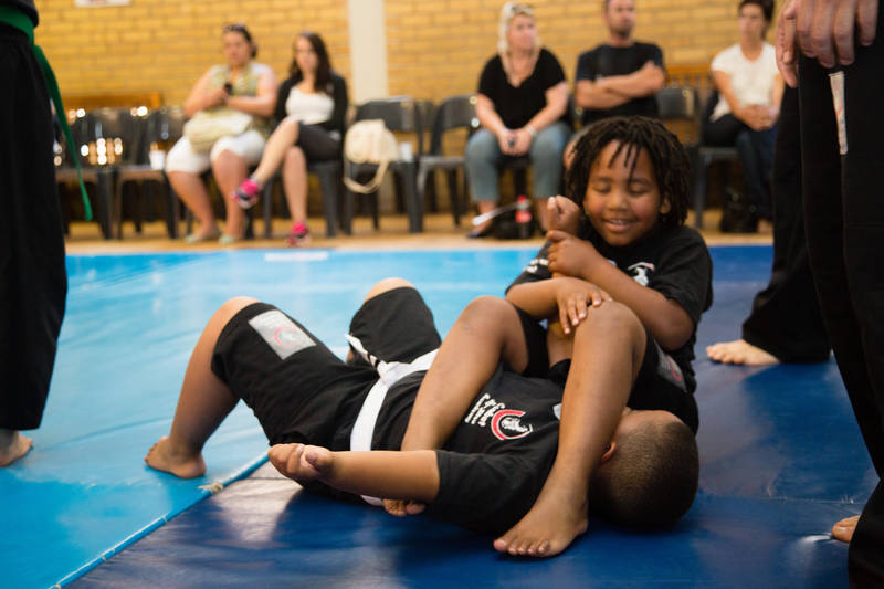 Kids Learning CJA Jiu-Jitsu