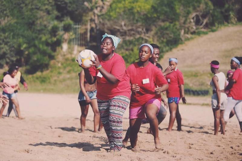 Fun at an iThemba camp