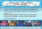 DREAM PARTIES FOR KIDS