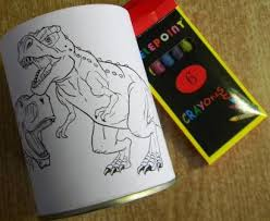Colour In with 6 crayons  R22